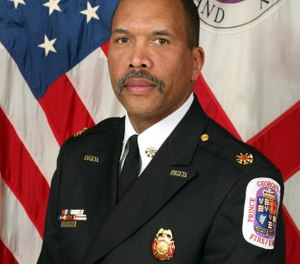 Benjamin M. Barksdale, Jr. is the current fire chief of Prince George's County, Md. (Photo/Benjamin M. Barksdale, Jr., Twitter)