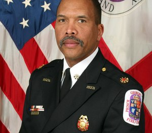 Benjamin M. Barksdale, Jr. is the current fire chief of Prince George's County, Md.