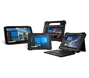 Rugged tablets, such as the L10 or R12 series from Zebra, offer a single device, all-purpose PC that can operate in all public safety environments, whether at the station or on the fireground.