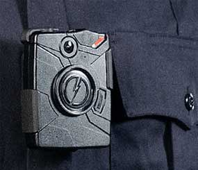 The AXON Body camera (TASER Image)