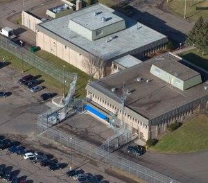 This Dec. 10, 2015 aerial photo, shows Lincoln Hills School in Irma, Wis. (Mark Hoffman/Milwaukee Journal-Sentinel via AP)