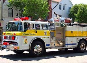 Photo Berwyn Fire Company The Berwyn Fire Companydonated their Engine 2-1 to the West Volunteer Fire Department.