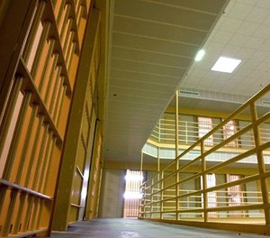 This April 23, 2003 file photo shows the interior of the Arkansas Department of Correction prison in Malvern, Ark.