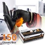 Halyard Black Fire Gloves