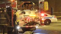 1 dead after bus crashes in front of Chicago firehosue