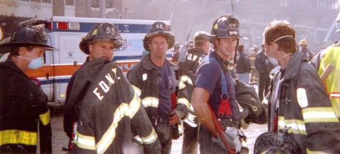 Steve Buscemi returns to Engine Co. 55 after the 9/11 attacks
