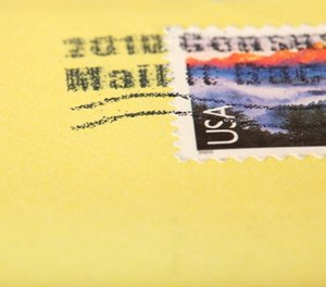 The jail has around 100 prisoners every day, which can lead to hundreds of envelopes in a week.