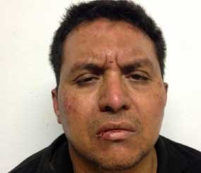 This mug shot released by Mexico's Interior Ministry on Monday shows Zetas drug cartel leader Miguel Angel Trevino Morales after his arrest. (AP Image)
