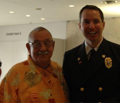 Chief Kuntz with Alan Brunacini. (Courtesy photo)