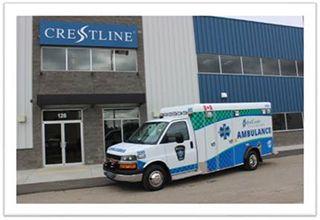 Canada's first hybrid ambulance