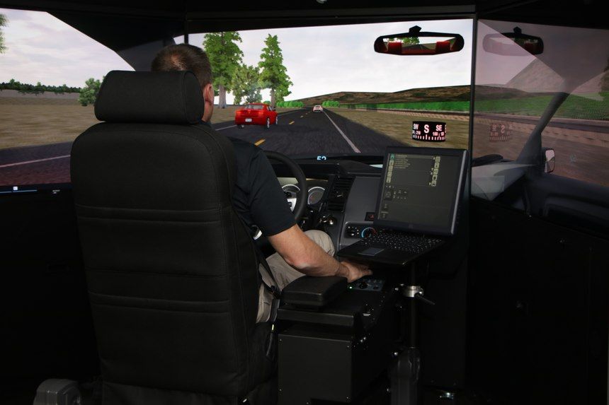 L3 Driver Training Simulator in Action