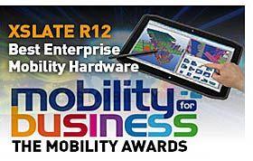Xplore Xslate R12 Rugged Tablet Named Best Enterprise