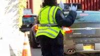 The dancing traffic cop
