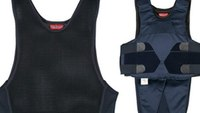 Officer creates cool, breathable vest to wear under armor