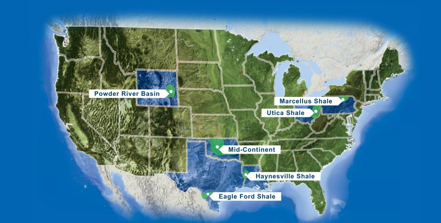 Energy grants fund community service projects in five states serviced by Chesapeake Energy.