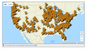 422 counties across the country have pledged to focus on mental health in county jails.