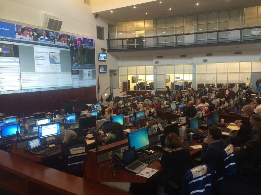 The EMPG, a disaster planning grant, helped fund the newly-updated Cal OES State Operations Center.