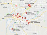Google Adds Local Prescription Drug Disposal Locations