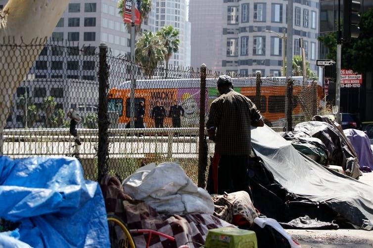 Los Angeles homeless camp
