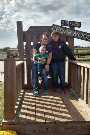 Vanessa Mccrickard and family