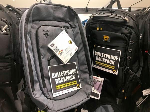 Bulletproof backpacks