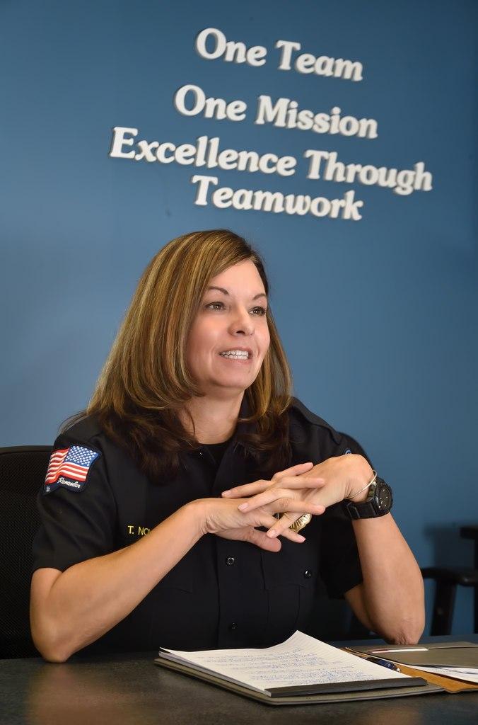 Metro Cities Fire Authority Supervisor Tracy Nolan