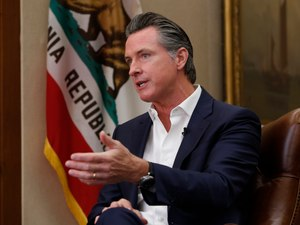 Governor Gavin Newsom announced the vaccination policy on Monday.