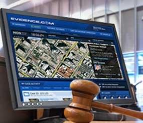 EVIDENCE.com is a digital evidence management platform that requires only an internet browser.