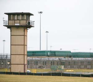 In this Feb. 1, 2017 file photo, Vaughn Correctional Center near Smyrna, Del., remains on lockdown following a disturbance. (Suchat Pederson/The Wilmington News-Journal via AP, File)