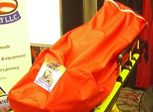 Photo Jamie ThompsonThe EMS Cot Cap is seen at FDIC.