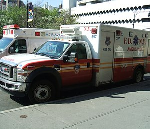 FDNY HazTac ambulance. (Photo by Flame37fighter/Wikimedia Commons)