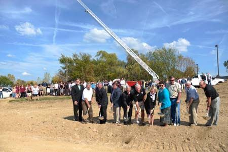 Fire-Dex celebrated its 29,000 square-foot expansion with a ceremonial groundbreaking on Monday, September 25, 2017.