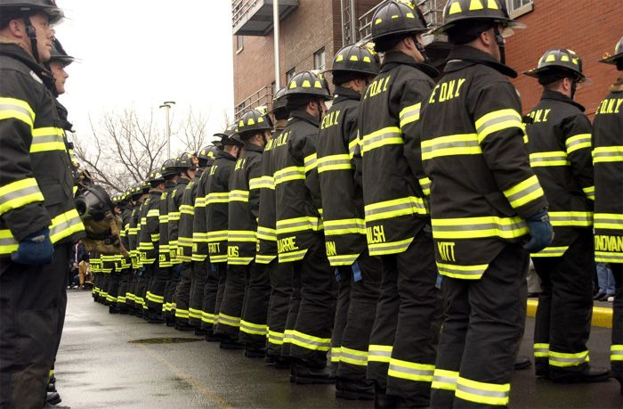 Probationary firefighters must earn their rank.