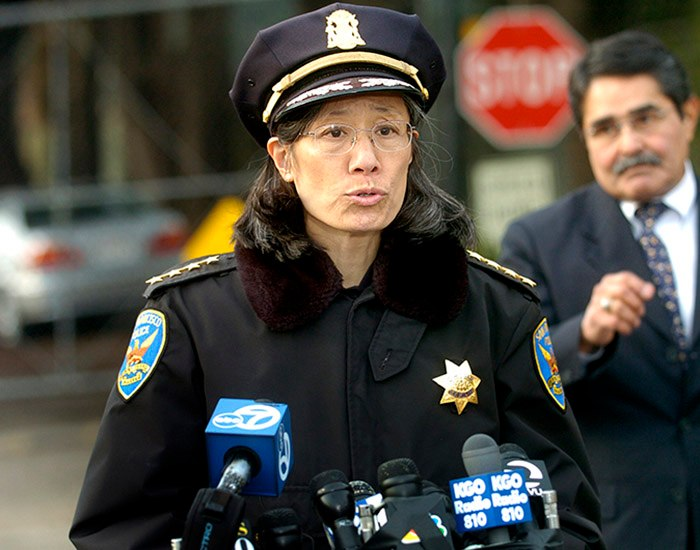Praised for her integrity and dedication to the city, she became top cop in a time of controversy for the agency. (Photo/Associated Press)