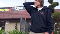 Homeless man who spotted Calif. fugitives gets $100K