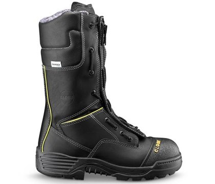 12-inch Structural Zipper Speed Lace Fire Boot.