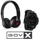 GovX Prize Pack: Nixon Unit Watch AND Beats by Dr. Dre Solo on Ear Headphones