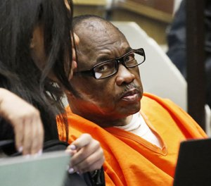 Lonnie David Franklin Jr., convicted of 10 counts of first-degree murder and one count of attempted murder for the