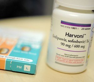 Harvoni is one of the new breakthrough drugs for Hepatitis C. (Lloyd Fox/Baltimore Sun/TNS)