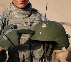 Nearly 150,000 combat helmets had to be recalled, costing the federal government more than $19 million.