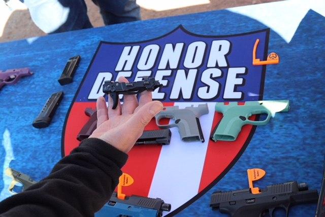 Honor Defense guns are built by veterans. (Photo/Gene Whisenand)