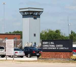 This July 25, 2011, file photo, shows the Hill Correctional Center in Galesburg, Ill. (Steve Davis/The Register-Mail via AP File)