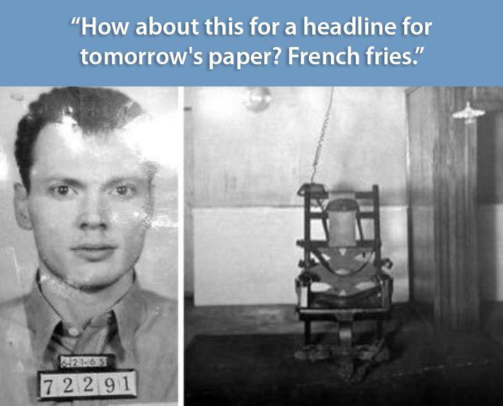 criminal last words, James French