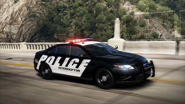 cool things unique to police life, fast police car