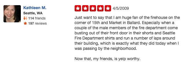 funny firefighter yelp review, running shorts