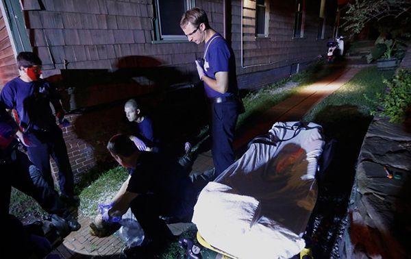 paramedics responding to heroin overdose