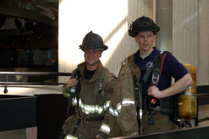Scott Ziegler and Billy Galvin photo at UniformStories