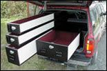 TruckVault's Gun Storage for the Explorer