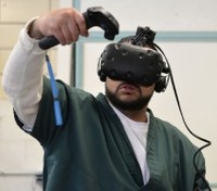 For some inmates on the cusp of freedom, virtual reality readies them for release