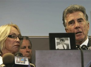 John Walsh and Reve Walsh talk about their son, Adam, during a press conference in Hollywood, Fla. Tuesday, Dec. 16, 2008.